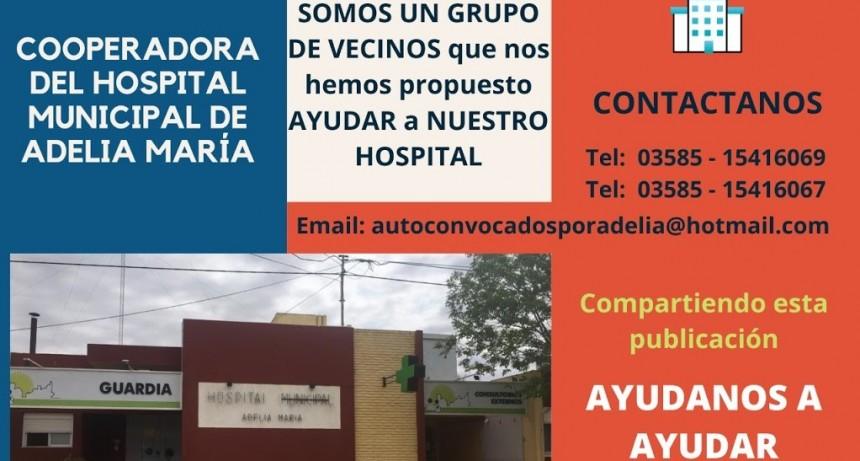 Vecinos autoconvocados crean una cooperadora para ayudar al Hospital