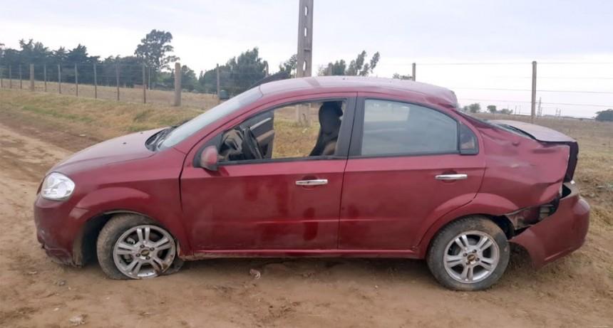 Accidente fatal en Adelia, una joven murió tras un vuelco