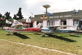 Aviones del Aero Club Río Cuarto harán vuelos de bautismo en Adelia María.