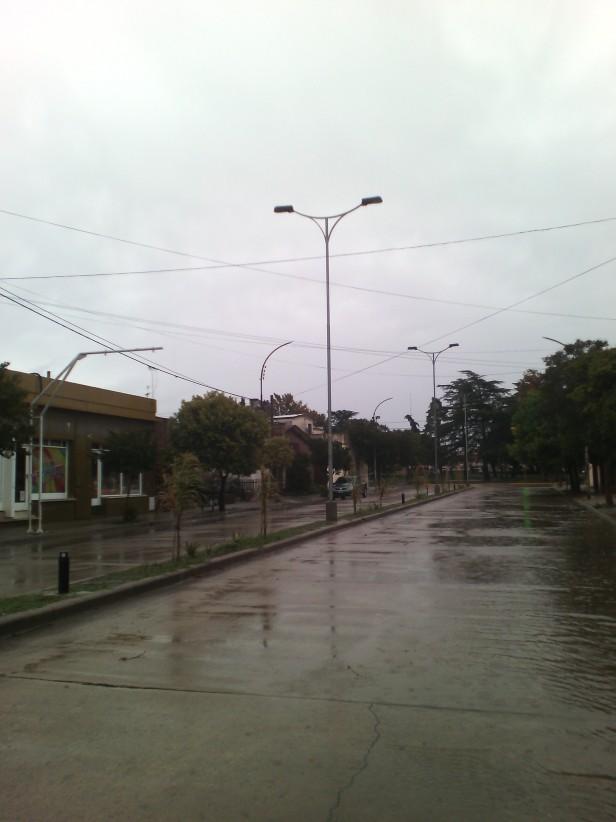 Volvió a llover en Adelia María: este martes cayeron 15 mm.