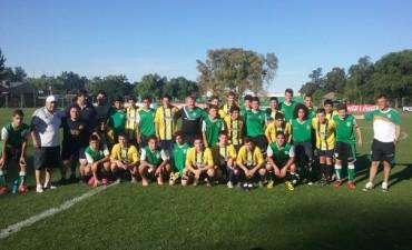 Juveniles de Atlético viajaron a Banfield y se midieron con el equipo local