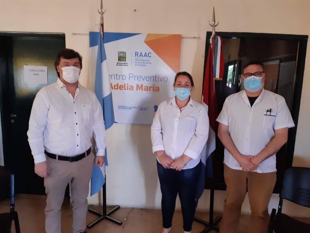INAUGURACIÓN CENTRO PREVENTIVO DE ADICCIONES EN ADELIA MARÍA