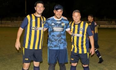 Luego de 33 años jugando en Atlético, se despidieron Pezzini, Vogliotti y Siliano.