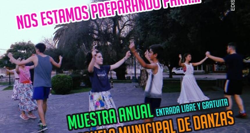 Cierre anual de la Escuela de Danzas Municipal