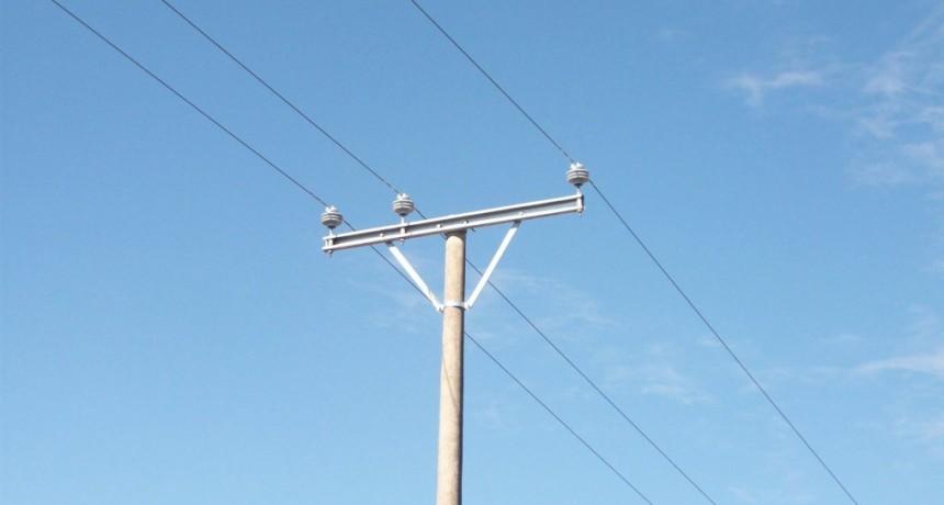 Habrá corte de electricidad el domingo a la mañana